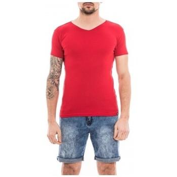 Vêtements Homme T-shirts manches courtes Ritchie T-shirt coton organique WORKAWAY Rouge