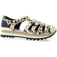 Chaussures Femme Sandales et Nu-pieds Gioseppo baskets Noir