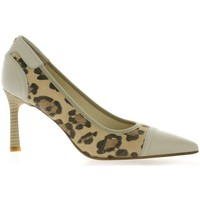 Chaussures Femme Escarpins Elizabeth Stuart Escarpins cuir velours Leopard