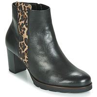 Chaussures Femme Bottines Gabor 3554122 Noir / Léopard