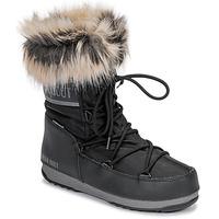 Chaussures Femme Bottes de neige Moon Boot MOON BOOT MONACO LOW WP 2 Noir