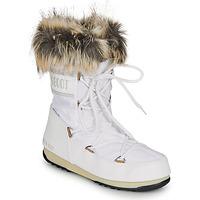 Chaussures Femme Bottes de neige Moon Boot MOON BOOT MONACO LOW WP 2 Blanc