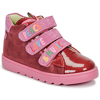 Chaussures Fille Baskets montantes Agatha Ruiz de la Prada HOUSE Rouge / Rose