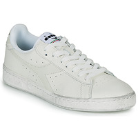 Chaussures Baskets basses Diadora GAME L LOW WAXED Blanc