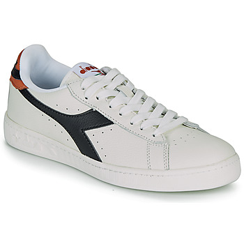 Chaussures Baskets basses Diadora GAME L LOW Blanc / Noir / Caramel