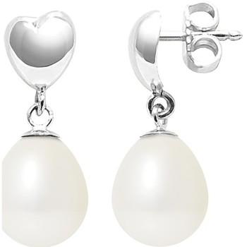 Montres & Bijoux Femme Boucles d'oreilles Blue Pearls BPS K306 W OB Blanc