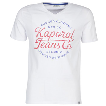Vêtements Homme T-shirts manches courtes Kaporal OBUCE Blanc