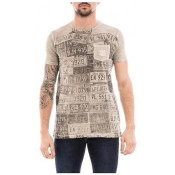 Vêtements Homme T-shirts manches courtes Ritchie T-shirt col rond pur coton NEDELKO Beige