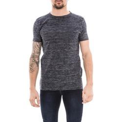 Vêtements Homme T-shirts manches courtes Ritchie T-shirt col rond NOOLPIX Bleu marine