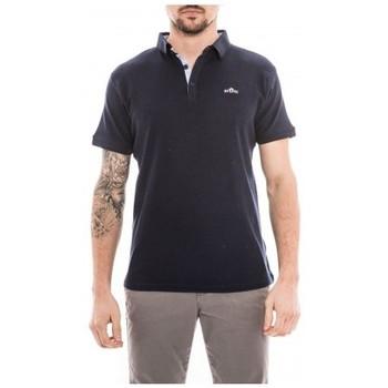 Vêtements Homme Polos manches courtes Ritchie Polo pur coton PADAVAN Bleu marine
