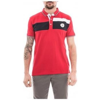 Vêtements Homme Polos manches courtes Ritchie Polo pur coton PILANI Rouge