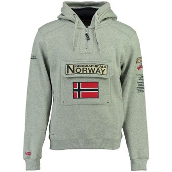 Vêtements Homme Sweats Geographical Norway Sweat Femme Gymclass New Gris