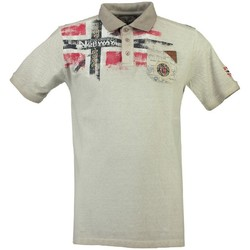 Vêtements Homme Polos manches courtes Geographical Norway Polo Homme Kamo Gris