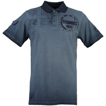 Vêtements Homme Polos manches courtes Geographical Norway Polo Homme Kinflat Bleu