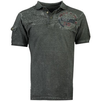 Vêtements Homme Polos manches courtes Geographical Norway Polo Homme Kinflat Gris