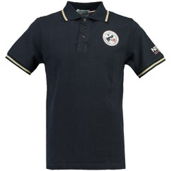 Vêtements Homme Polos manches courtes Geographical Norway Polo Homme Kamelo Bleu