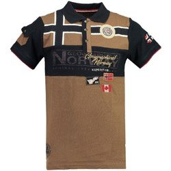 Vêtements Homme Polos manches courtes Geographical Norway Polo Homme Klipo Gris