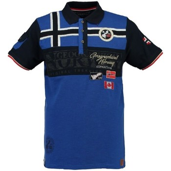 Vêtements Homme Polos manches courtes Geographical Norway Polo Homme Klipo Bleu