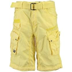Vêtements Homme Shorts / Bermudas Geographical Norway Bermuda Homme Panoramique Color New Jaune