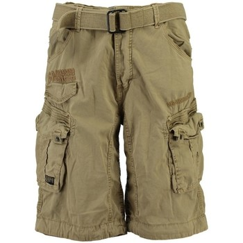 Vêtements Homme Shorts / Bermudas Geographical Norway Bermuda Homme Panoramique Basic New Beige