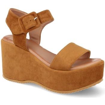 Chaussures Femme Sandales et Nu-pieds Buonarotti 1FF-19196 Camel
