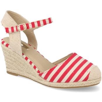 Chaussures Femme Espadrilles Buonarotti 1JB-19055 Rojo