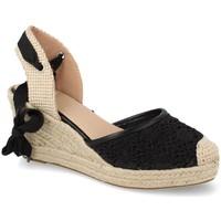 Chaussures Femme Espadrilles Buonarotti 1JB-19309 Negro