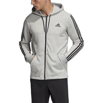 Vêtements Homme Sweats adidas Originals MH 3S FZ FT FELPA CON CAPPUCCIO GRIGIA Gris
