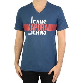 Vêtements Homme T-shirts manches courtes Kaporal Delmo Blue Us