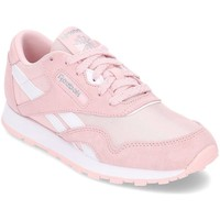 Chaussures Fille Baskets basses Reebok Sport Classic Nylon Rose