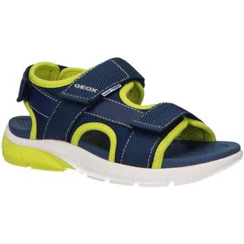 Chaussures Garçon Sandales et Nu-pieds Geox J929DB 01114 J SANDAL Azul