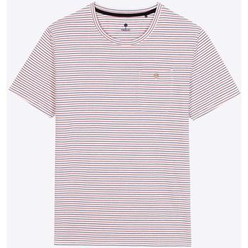 Vêtements Homme T-shirts manches courtes Faguo Olonne Blanc