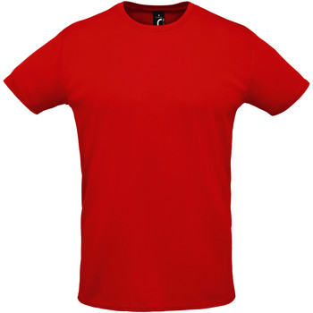 Vêtements Homme T-shirts manches courtes Sols SPRINT SPORTS Rojo