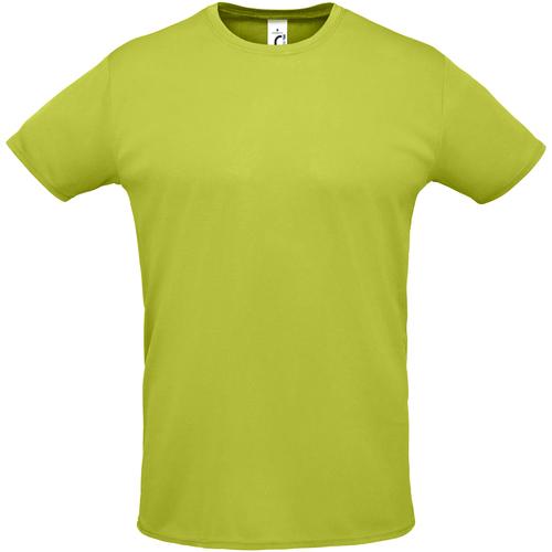 Vêtements Homme T-shirts manches courtes Sols SPRINT SPORTS Verde