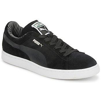 Chaussures Homme Baskets basses Puma SUEDE CLASSIC ECO LODGE Noir