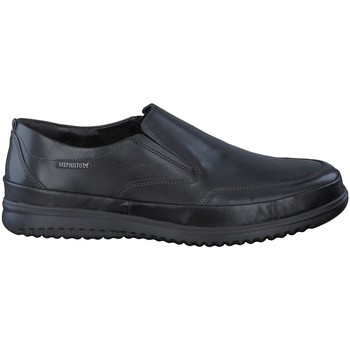 Chaussures Mocassins Mephisto Mocassin TWAIN marron Noir