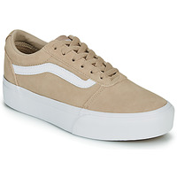 Chaussures Femme Baskets basses Vans WARD PLATFOR BE BEIGE