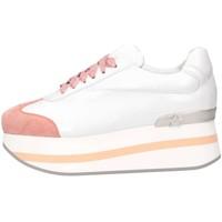 Chaussures Femme Baskets basses Mg Magica D19181 BIANCO/ROSA Blanc / Rose