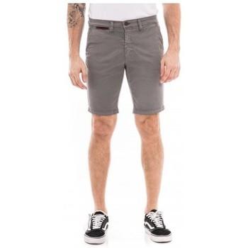 Vêtements Homme Shorts / Bermudas Ritchie Bermuda chino slim BERKLEY Gris foncé