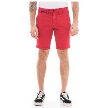 Vêtements Homme Shorts / Bermudas Ritchie Bermuda chino slim BERKLEY Rouge
