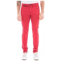 Vêtements Homme Pantalons 5 poches Ritchie Pantalon chino slim CARLTON Rouge