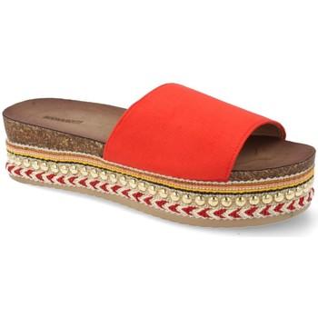 Chaussures Femme Claquettes Buonarotti 1AD-19127 Rojo