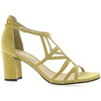 Chaussures Femme Sandales et Nu-pieds Vidi Studio Nu pieds cuir velours Jaune