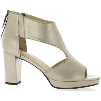 Chaussures Femme Sandales et Nu-pieds Vidi Studio Nu pieds cuir laminé Or