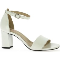 Chaussures Femme Sandales et Nu-pieds Vidi Studio Nu pieds cuir laminé Blanc