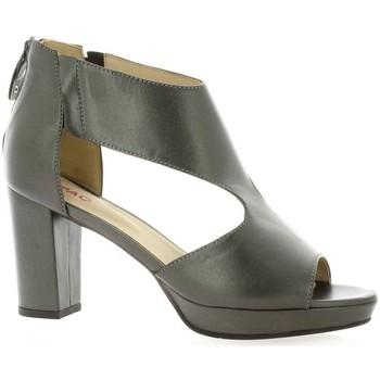 Chaussures Femme Sandales et Nu-pieds Vidi Studio Nu pieds cuir laminé Bronze