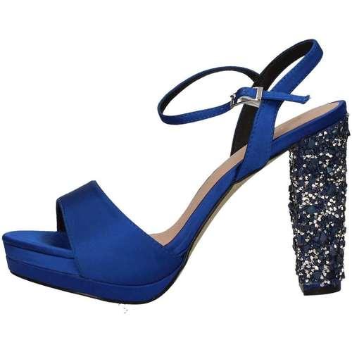 Menbur Et pieds 20279 Bleu Sandales Femme Nu XZukOiP