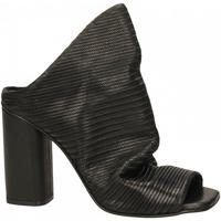 Chaussures Femme Claquettes Poesie Veneziane VELVET STUOIA nero