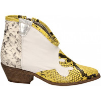 Chaussures Femme Bottines Le Pure  bianco-roccia-giallo