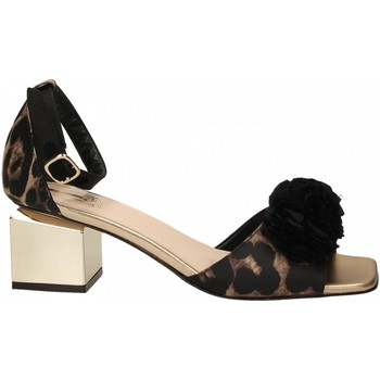 Chaussures Femme Sandales et Nu-pieds Jeannot SCARPE D platino---nero